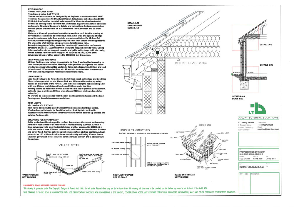Sample Extension Or Property Drawings Ltd Architectural