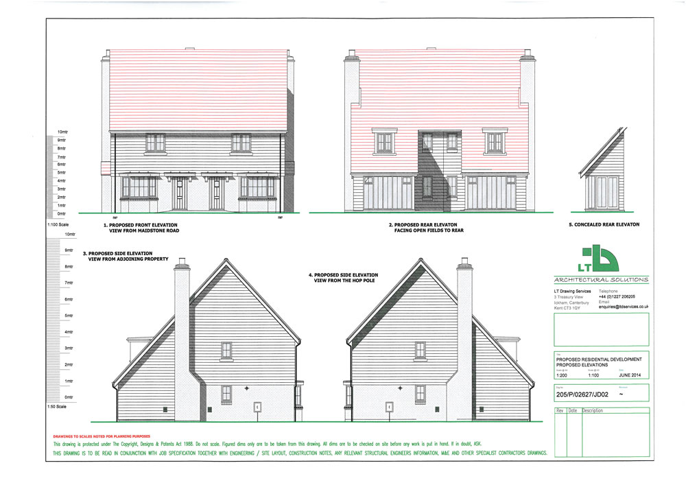 Sample extension or property drawings ltd architectural for Architectural drawings online