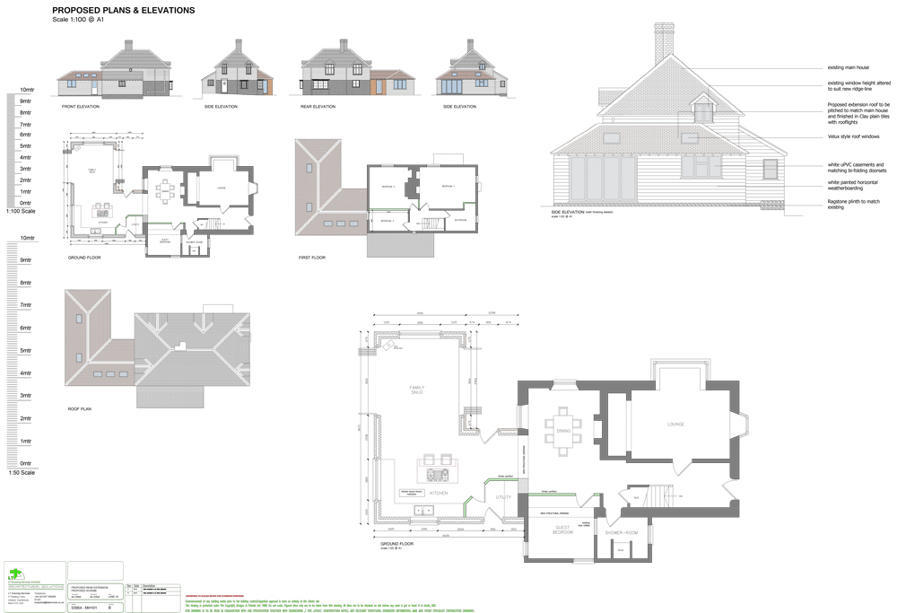 extension layout plans