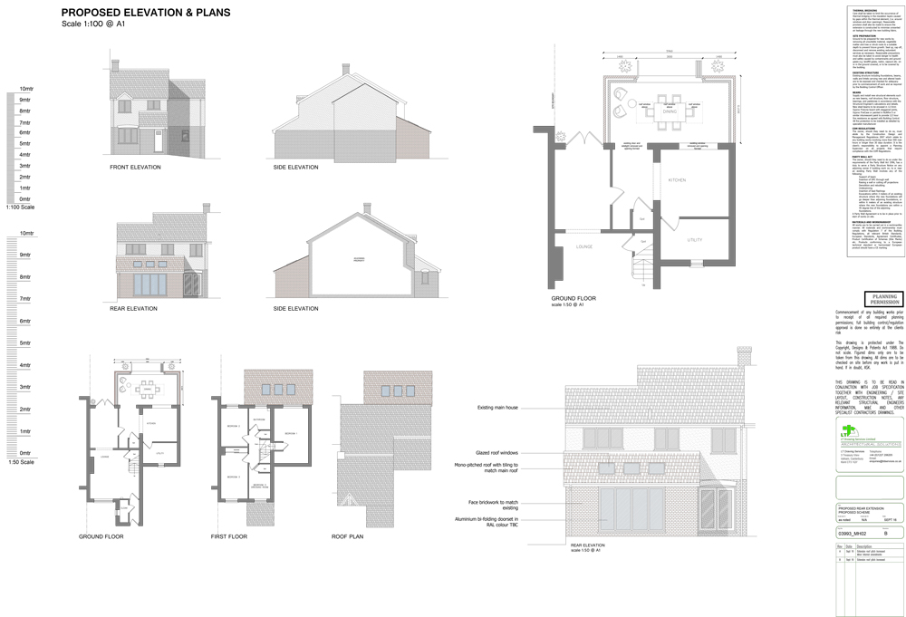 extension plans canterbury