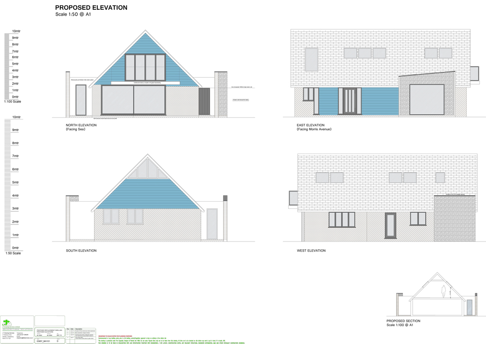 Sample Extension or Property Drawings | LTD Architectural Drawings